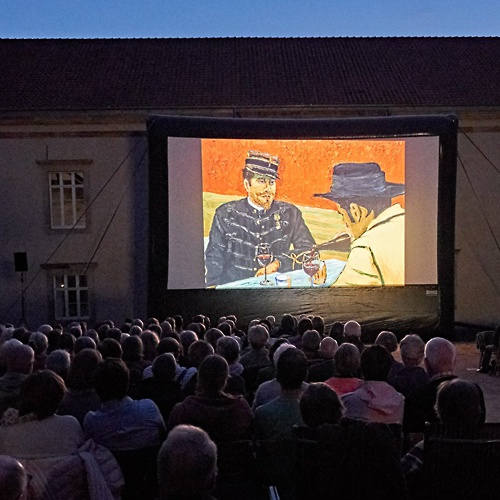 Open-Air-Kino im DA